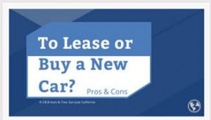 Buy or lease a new car?