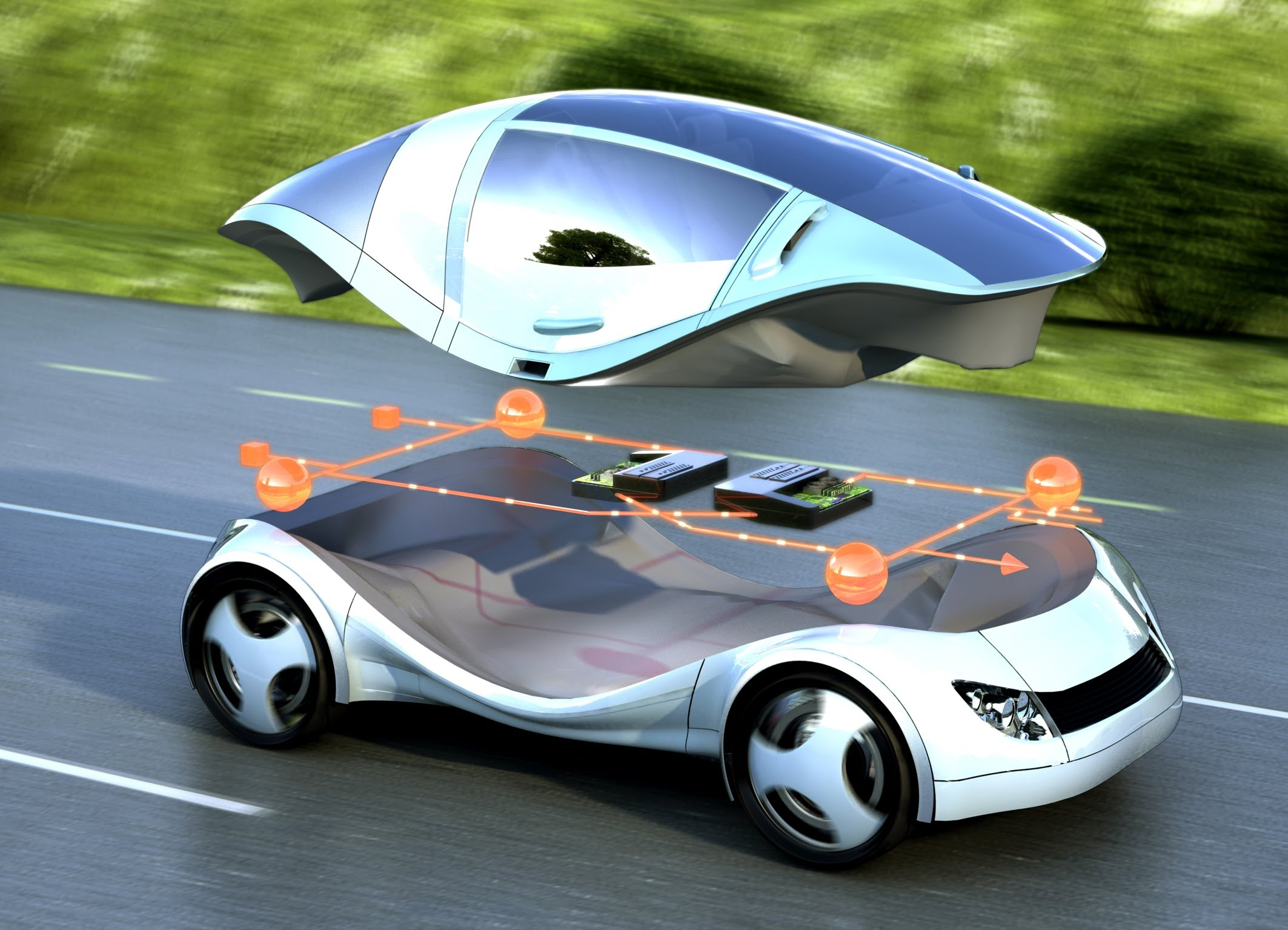 Future Of The Car: The Cars We'll Be Driving In The Future